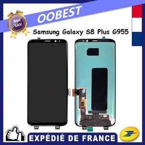ECRAN DE TÉLÉPHONE ECRAN POUR SAMSUNG GALAXY S8 PLUS G955F NOIR COMPL