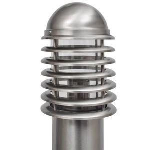 LAMPE DE JARDIN  Lampadaire acier inoxydable LED luminaire sur pied