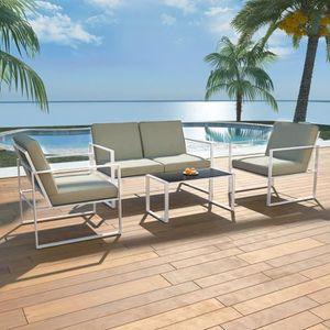Luxueux Magnifique Moderne-Mobilier de jardin Salon de ...