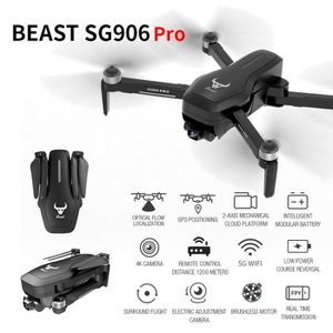 DRONE SG906 Pro GPS RC Drone FPV 4K Camera Two-Axis Card