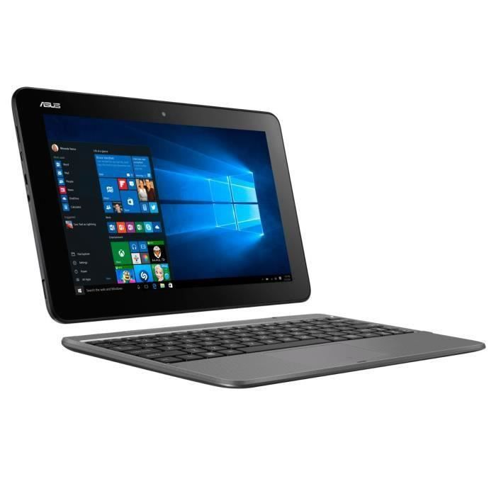 Asus pc portable reconditionné h100taf w10 dk081t écran tactile 101 2go ram windows 10 intel atom stockage 32go
