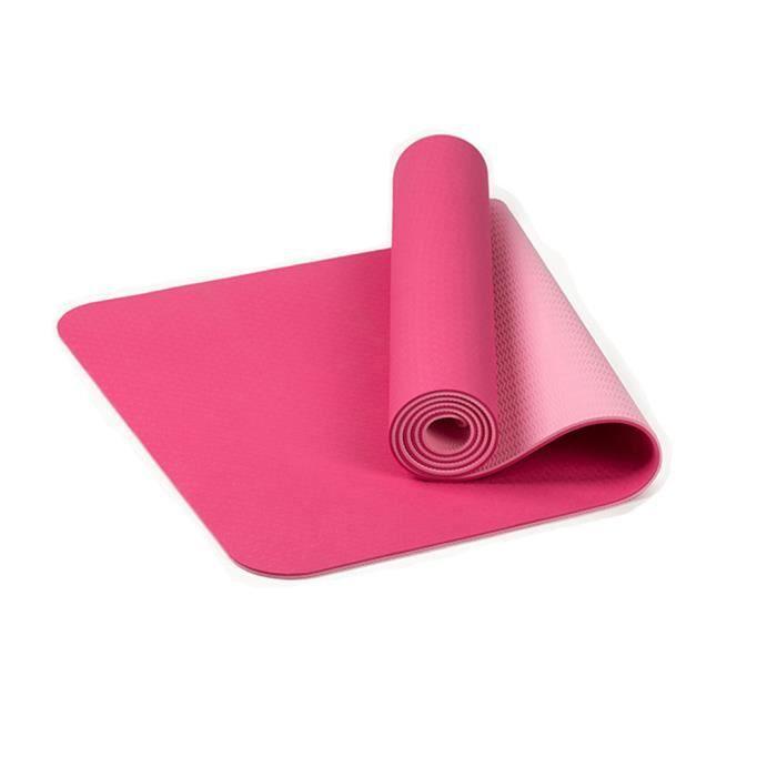Tapis de yoga classique Yoga Mat Pro TPE Eco Friendly Antiderapant Fitness Tapis d'exercice @sun562