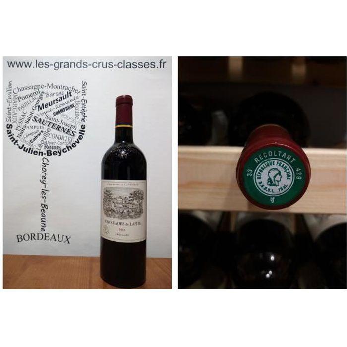 Carruades de Lafite 2016 - Pauillac - Second Vin - Domaine Château Lafite Rothschild - 1 x 75 cl - Rouge