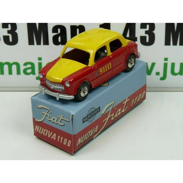MRY3 Voiture 1/48 MERCURY hachette : Fiat Nuova 1100 Taxi de Berne n°13