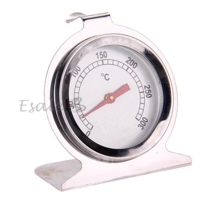 Thermomètre à Four Cuisson Cuisine Température 0-300°C Cadran Dia. 6cm