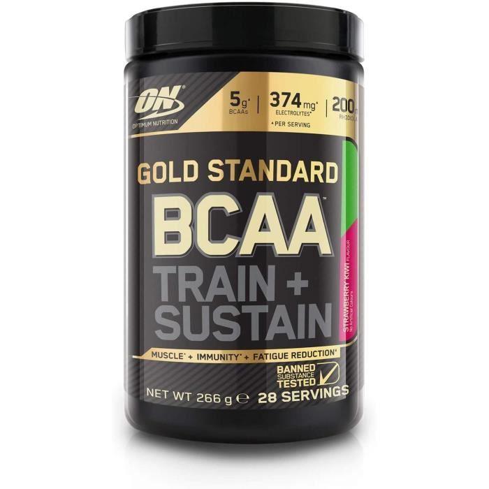 Vitamines, minéraux et compléments Optimum Nutrition Gold Standard BCAA Poudre, Complément Alimentaire BCAA en Poudre av 771236