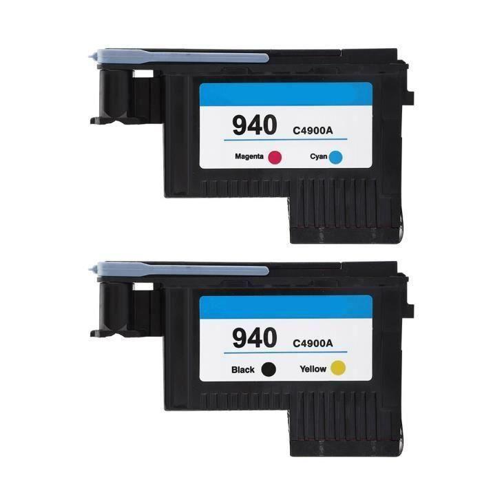 Tête d 'impression pour cartouches d 'encre Imprimante HP 940 C4900A