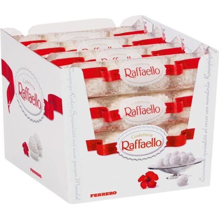 Ferrero Raffaello 4 bars, praline, 16 paquets