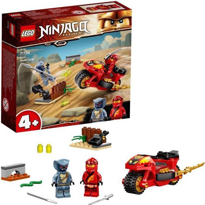 LEGO® 71734 NINJAGO® La moto de Kai Jouet et Figurine pour Enfants de 4 ans et plus