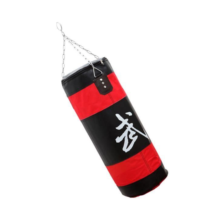 SAC DE FRAPPE - PUNCHING BALL - POIRE DE BOXE 1 Pièce vide sac de boxe (avec la chaîne)