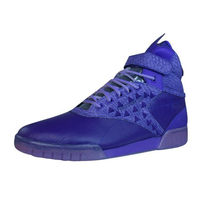 Chaussures De Fitness REEBOK Classique Exo Men Fit Hi Clean Pm Int Patrick Mohr Hi Baskets V61161 Sneakers Chaussures Z7H9K Taille-4