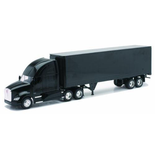 NEW RAY Camion KENWORTH Conteneur - Miniature - 1/32° - 55 cm