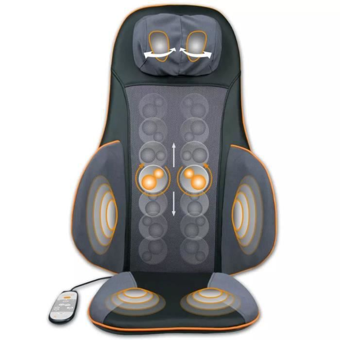 Couvre-siège de massage de digipuncture Shiatsu MC 825