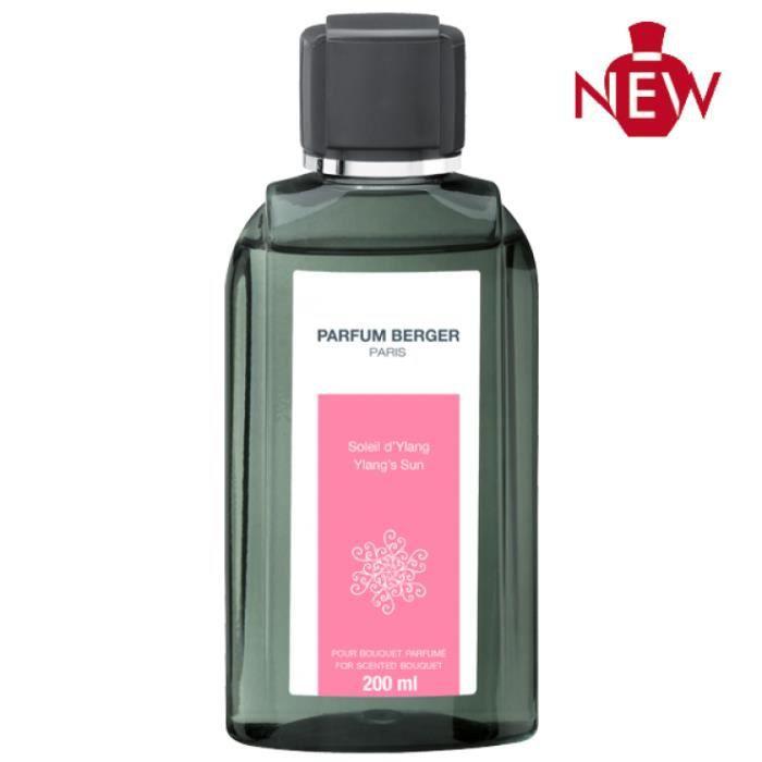 Parfum Berger Recharge pour Bouquet Parfum Soleil d'Ylang Transparent 200 ml …
