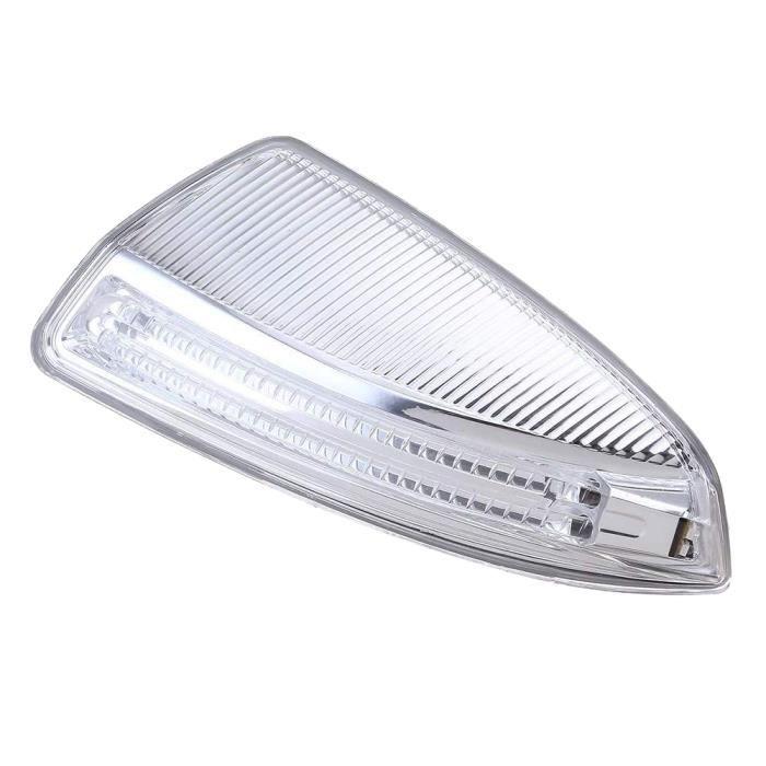 la Porte LatéRale les Lampes à LED,Aile de Porte Miroir Clignotant pour Mercedes-Benz W204 W164 ML Classe ML300 - la Gauche