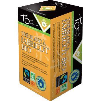 Touch Organic The blanc BIO a l abricot 24 sach…