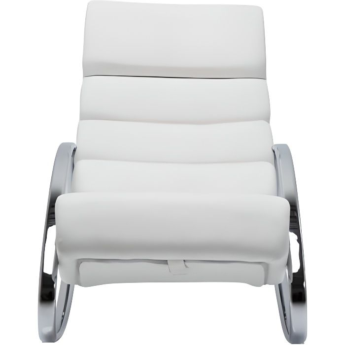 fauteuil rocking chair manhattan blanc kare design achat. Black Bedroom Furniture Sets. Home Design Ideas