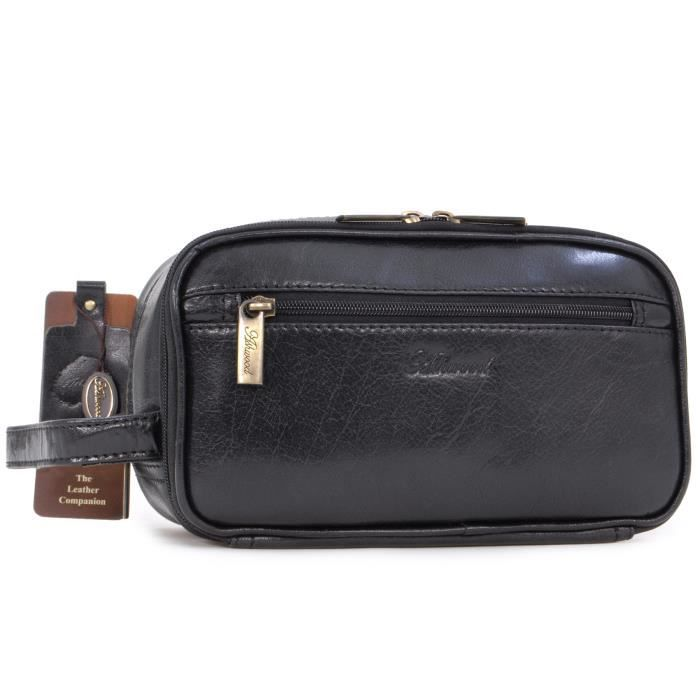 SAC À MAIN Ashwood 2080 WB Black - Homme - Sac de lavage-Rasa