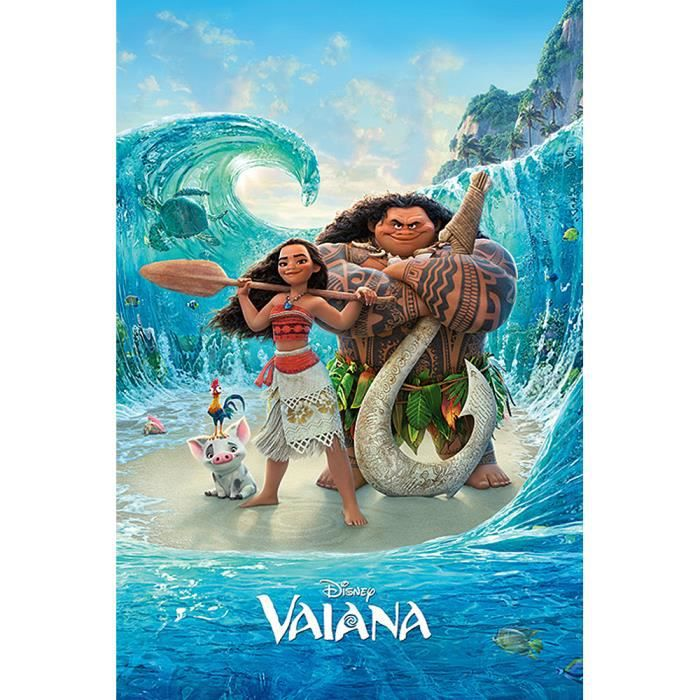 poster disney vaiana magical sea achat vente affiche poster soldes d s le 10 janvier. Black Bedroom Furniture Sets. Home Design Ideas