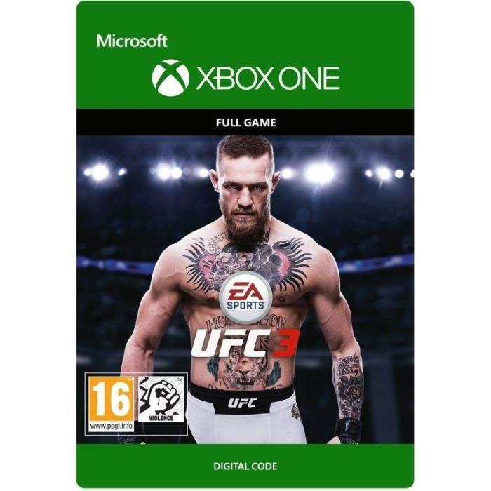 JEU XBOX ONE À TÉLÉCHARGER UFC 3 Jeu Xbox One à télécharger