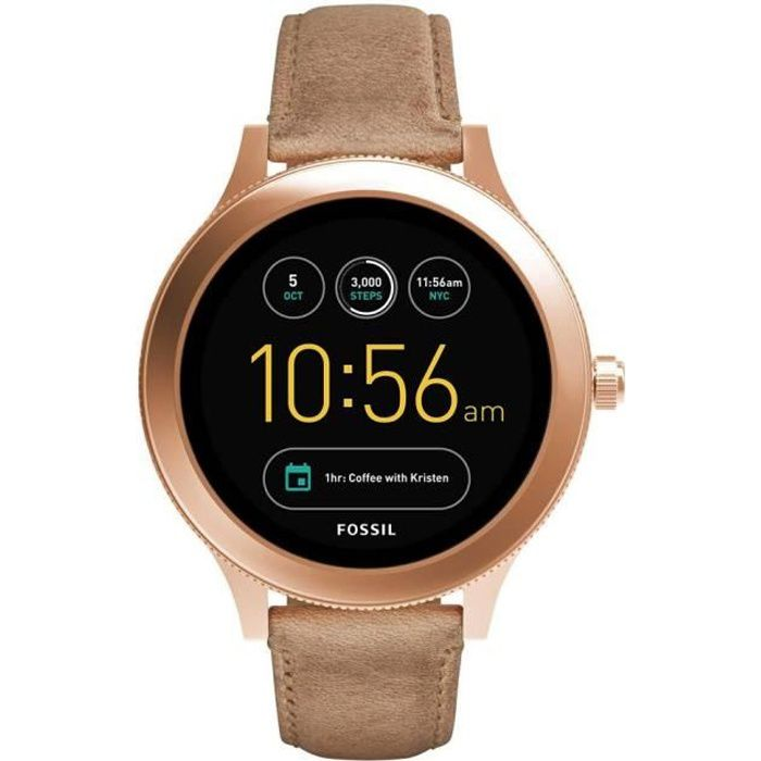 fossil q venture ftw6005 smartwatch femme achat montre. Black Bedroom Furniture Sets. Home Design Ideas
