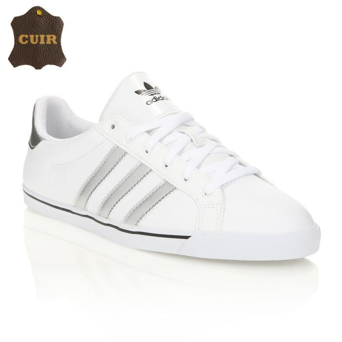 chaussure adidas fille blanche