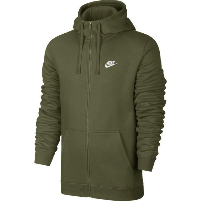 presenting entire collection fantastic savings Sweat à capuche Nike Sportswear Club Fleece Full-Zip - 804389-395