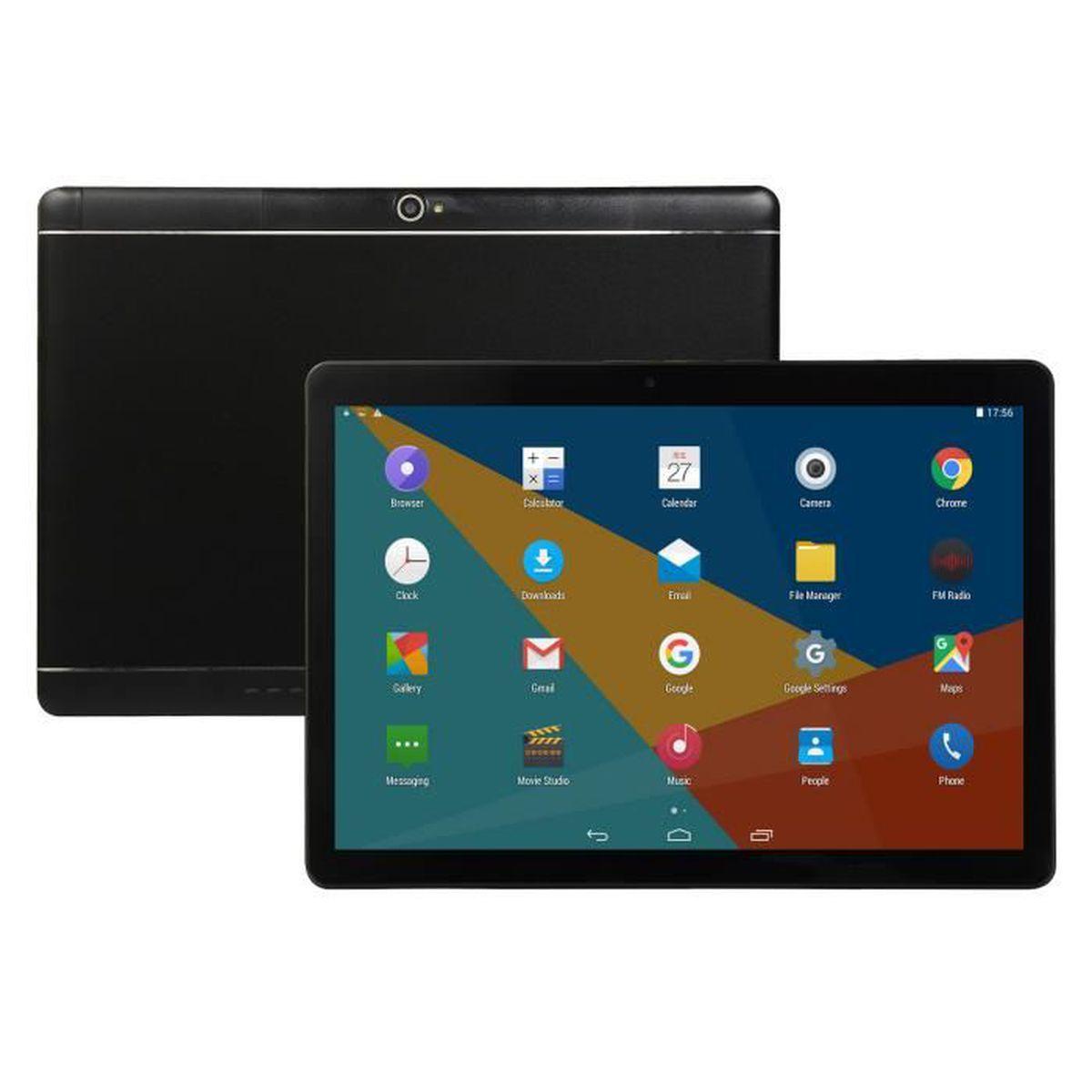 TABLETTE TACTILE Tablette 10,1 pouces Android 8.0 Bluetooth PC 8 +