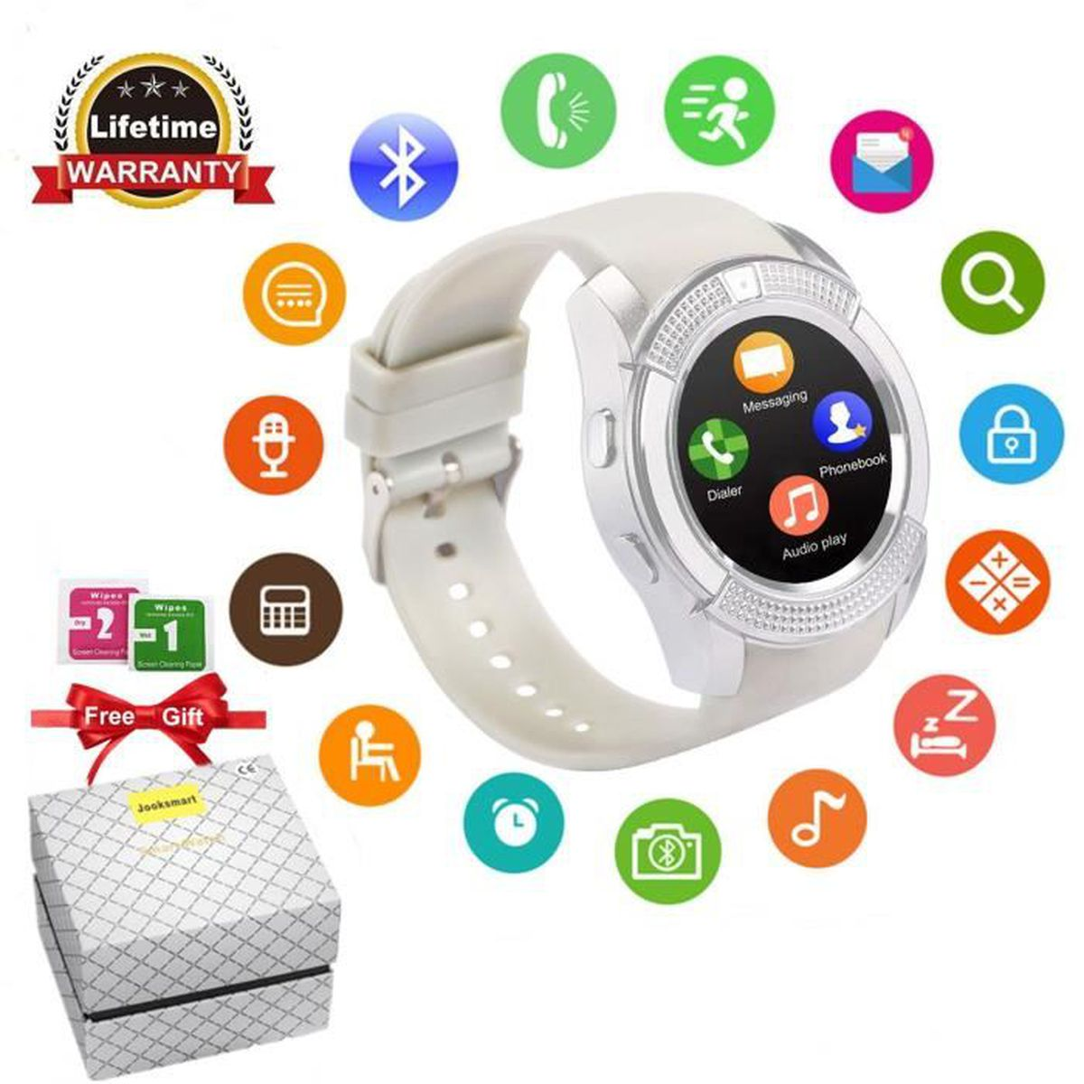 Jooksmart Smartwatch Bluetooth Montre Sport Connectée YEWD9H2I