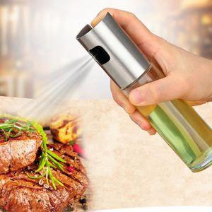 SET ACCESSOIRE CUISINE Bouteille d'huile de pulvérisation pompe en verre