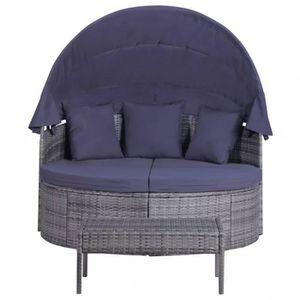 48 Couleur Bruxelles Ce mobilier de jardin en resine tressee, compose d\'1  chaise lo