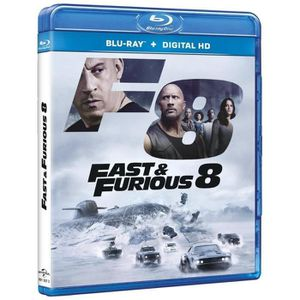 BLU-RAY FILM fast and furious 8 blu ray 2017