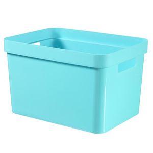 CASIER POUR MEUBLE CURVER Boîte Infinity 17 L bleu