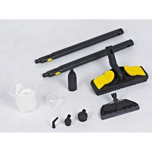 PIÈCE ENTRETIEN SOL  Kit complet d'accessoires pour nettoyeur vapeur…
