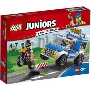 ASSEMBLAGE CONSTRUCTION LEGO® Juniors 10735 L'Arrestation du Bandit
