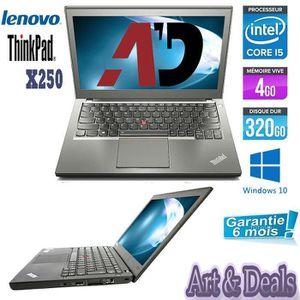 Top achat PC Portable LENOVO X250 CORE I5 320Go 4Go pas cher