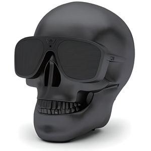ENCEINTE NOMADE Enceinte bluetooth Tête de mort noir