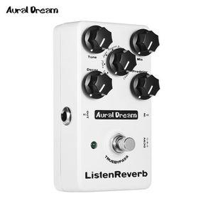 PÉDALE D'EFFETS Aural Dream Listen Pédale d'effet guitare Reverb a