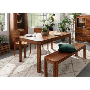 TABLE À MANGER SEULE Table à manger 200x100cm - Bois massif de palissan
