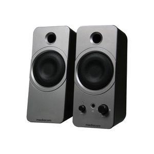 ENCEINTES ORDINATEUR MEDIACOM MediaSound DT212 Haut-parleurs pour PC US
