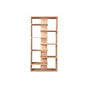 BIBLIOTHÈQUE  Miliboo - Bibliothèque design en bois d'acacia 88