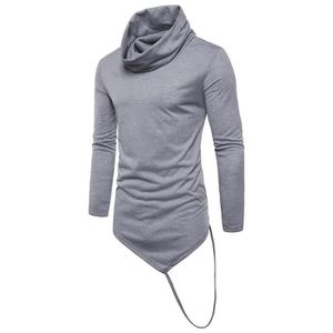 T-SHIRT Libaib Fashion Men Long Sleeve Slim Fit TShirt Men