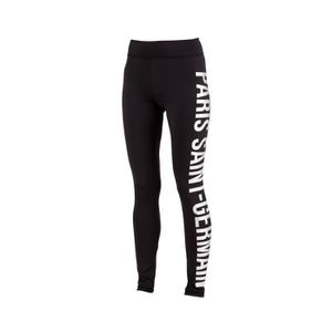 TENUE DE FOOTBALL Legging Running PSG Noir Femme