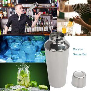 SHAKER - SET COCKTAIL  8 PCS Ensemble shaker Set cocktail Outils Kits de