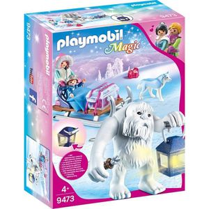 UNIVERS MINIATURE PLAYMOBIL 9473 - Magic - Yéti avec traineau - Nouv