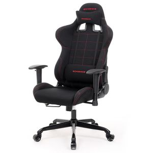 fauteuil de bureau gamer achat vente fauteuil de bureau gamer pas cher cdiscount. Black Bedroom Furniture Sets. Home Design Ideas