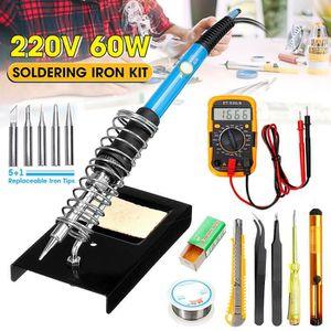 60 W Fer à souder pistolet soudage électrique 110v-120v 20 g à souder Tube Home Shop