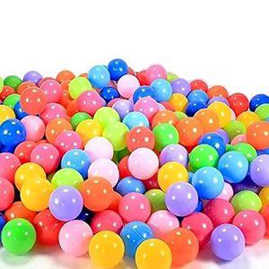 BALLES PISCINE À BALLES Vococal® 100pcs 7cm piscine balles bebe plastique