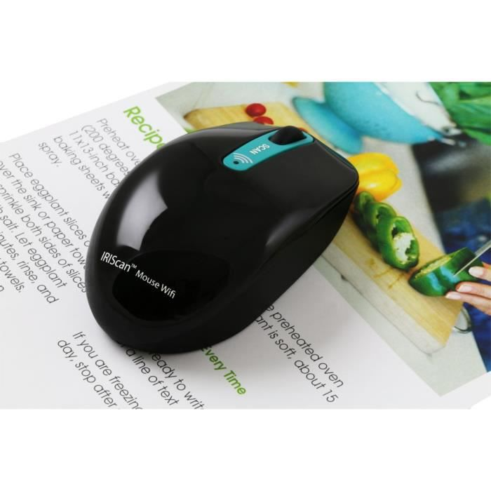 IRIS IRISCan Mouse 2 Wifi WinMac - Portable - USB - 3PPM Simplex - Mouse & Scanner