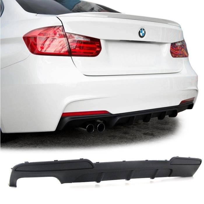 SPOILER / DIFFUSEUR ARRIERE PACK M PERFORMANCE DOUBLE SORTIE GAUCHE POUR BMW SERIE 5 F10 ET F11